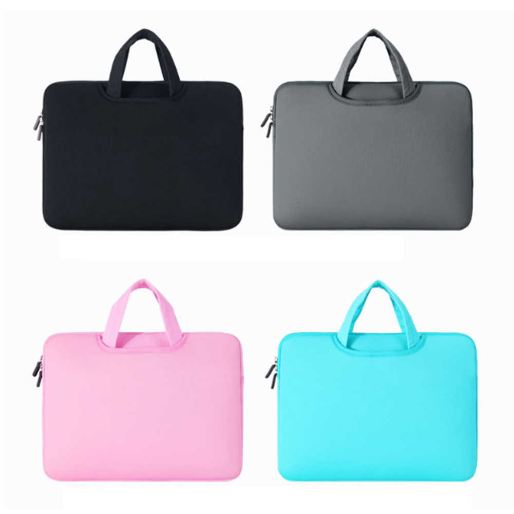 Outdoor 11 inches Laptop Bag Protective Case Nylon for Macbook Air Pro Shockproof and Wear-resistant Laptop Computer Case