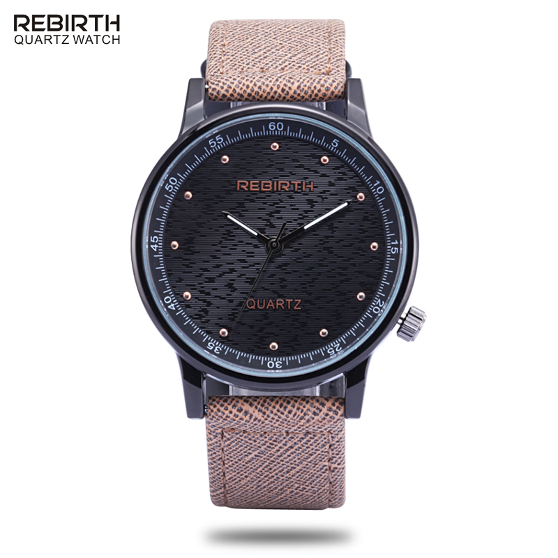 font b Top b font Brand REBIRTH Mens Watches font b Luxury b font Waterproof