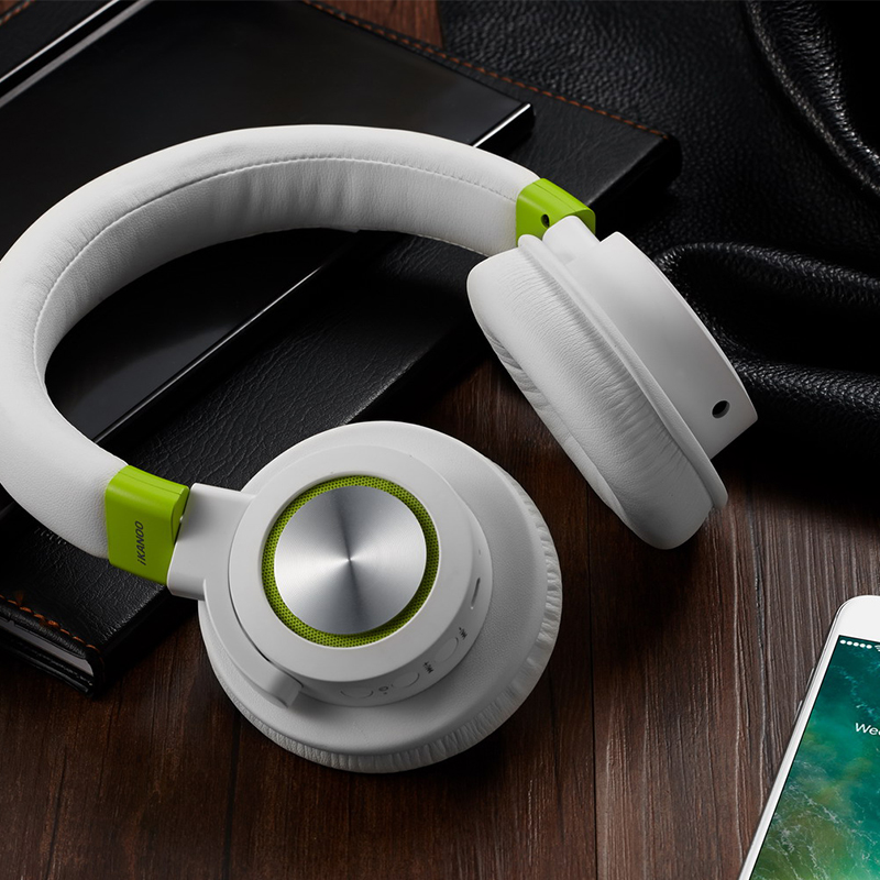 New bluetooth headphones Stereo Bass bluetooth Noise Cancelling Wireless Headset for phones music earphone