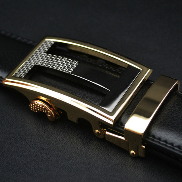 Luxury Leather Men's Belt