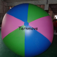 Inflatable 1.5m colorful beach Ball Balloons Swimming Pool Play Party Water Game Balloons Beach Sport Ball Kids Fun Toys
