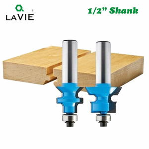 Image 5 - LAVIE 2pcs 12mm 1/2 Shank 120 Degree Router Bit Milling Cutter Frame Groove Tenon Woodworking Engraving Wood Milling Set 03004