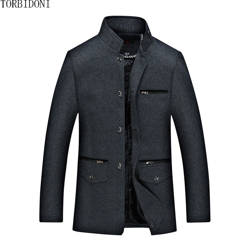 Spring Autumn Men Casual Jacket Coat Brand New Mens Fashion Outerwear Chaqueta Hombre Brand-Clothing Jackets Overcoat Male Coat