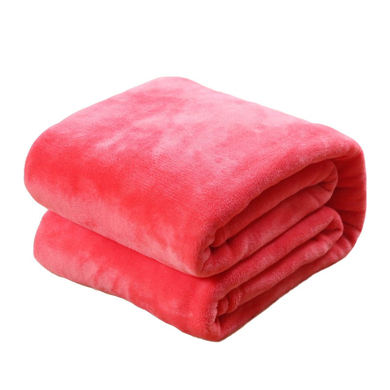 Coral Velvet Baby Swaddle Stroller Plush Wrap Blanket Soft Newborn Blanket Travel Nap Cobertor Coral Fleece Towel Pets Blanket