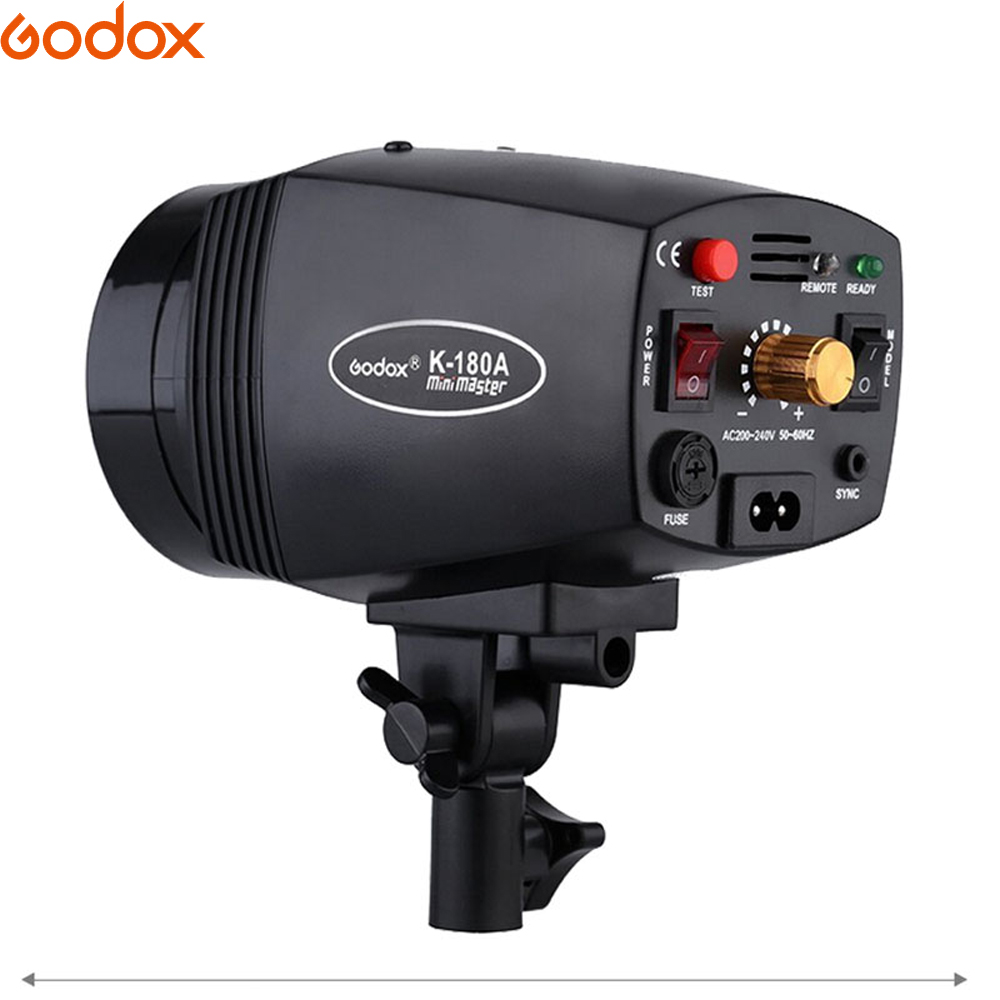 Image 2 - GODOX K 150A K150A K180A K 180A 180WS 150Ws Portable Mini Master Studio Flash Lighting Photo Gallery Mini Flash 110 v/220 v-in Flashes from Consumer Electronics