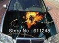 DIY estilismo de coches pegatinas accesorios de carrocería decorativos Demons patrón mensajero pegatina capó para todos los modelos de coche