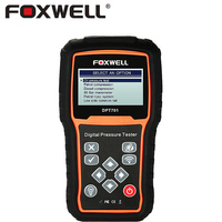 FOXWELL DPT701 Car Engine Compression Measure Fuel Oil Pressure Tester 80 Bar Manometer Petrol Injection Diesel Common Rail Test