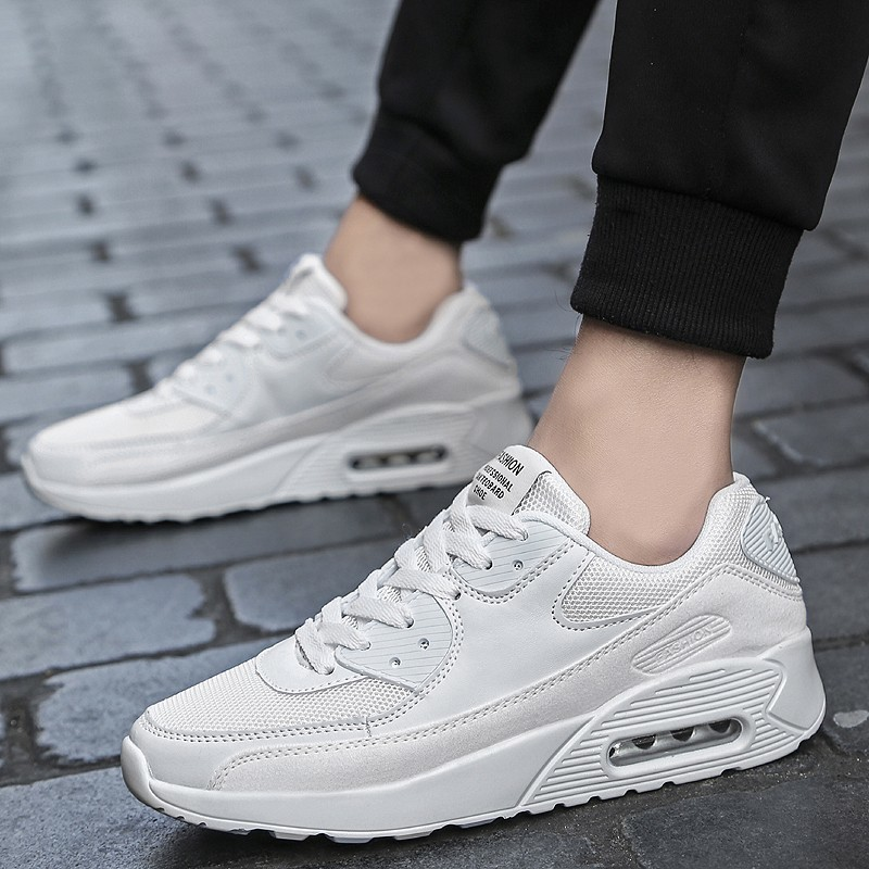 Casual Shoes Men Breathable Comfortable Fashion 2019 Male Wear-Resistant Lace-Up Cheaper Lightweight Sneakers YASILAIYA