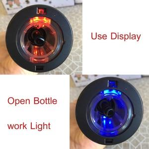 Image 4 - Youpin Huohou otomatik kırmızı şarap şişesi elektrikli tirbuşon 6S açacağı folyo kesici Cork Out alet setleri ev düğün parti için