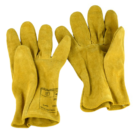 Safety Glove Split Cow Leather Driver Work Glove leather safety glove deluxe tig mig leather welding glove comfoflex leather driver work glove