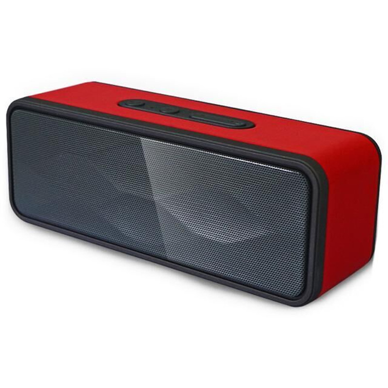 Wireless Bluetooth Speaker Portable High Power Subwoofer Bluetooth Hands Free FM Radio and TF Card Mini Speakers Sound Box