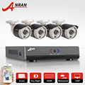 ANRAN 4CH Security System 1080N AHD HDMI DVR 720P 1800TVL Waterproof IR-Cut Outdoor CCTV Camera Home Video Surveillance Kits