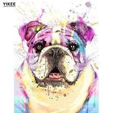 Алмазная живопись yikee с животными и собаками вышивка крестиком