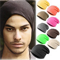 Solid Casual Cotton Slouch Hats For Men Hip-Pop Dance Caps Skullies Unisex Spring Aurumn Bonnet Beanies Gorro