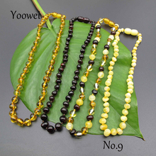 Yoowei Baroque Amber Necklace for Women Baby Natural Baltic Amber Beads Factory Unique Styles Original Amber Jewelry  Wholesale
