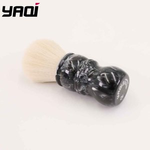 Image 2 - Yaqi פגם ידית הצעה מיוחדת גילוח מברשת עם קשמיר סינטטי שיער קשר