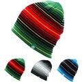 Мужская Мужчины Женщины Катание На Лыжах Шляпы Теплая Зима Вязание Шапка Шляпа Шапочки Водолазки Шапки Полосатый Лыж Cap Сноуборд