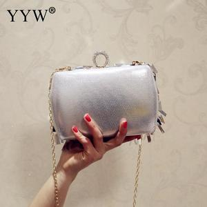 Image 5 - ゲリー女性結婚式の財布高級デザイナーのウェディングハンドバッグ指リングハンドバッグスパンコールイブニングパーティークラッチバッグゴシックラインストーン