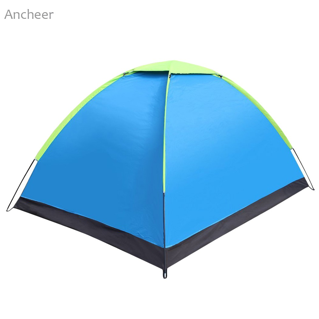 Ancheer New Waterproof Tent 2 Person Pop up Tent Automatic Instant Setup Outdoor C&ing Tent Waterproof Portable-in Tents from Sports u0026 Entertainment on ...  sc 1 st  AliExpress.com & Ancheer New Waterproof Tent 2 Person Pop up Tent Automatic Instant ...