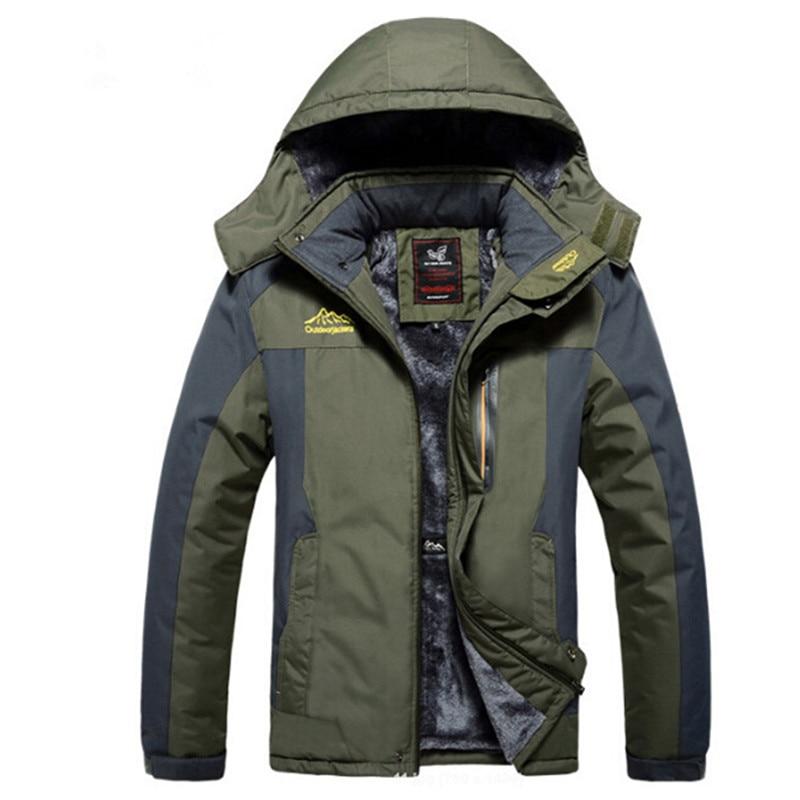 Original Winter Warm Waterproof Soft Shell Tactical Jacket Outdoor Hunting font b Sport b font Army