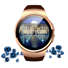KW18 Android Bluetooth Smartwatch Support SIM TF Card Heart Rate Pedometer Smart Phone Watches Best Fitness Watch Gift