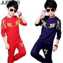 JUPHAIR 5N Kid Boy Girls Clothing Children 2pcs Sets Pants Set Fashion children Sportswear Suit Long Sleeve Casual Sport Defines