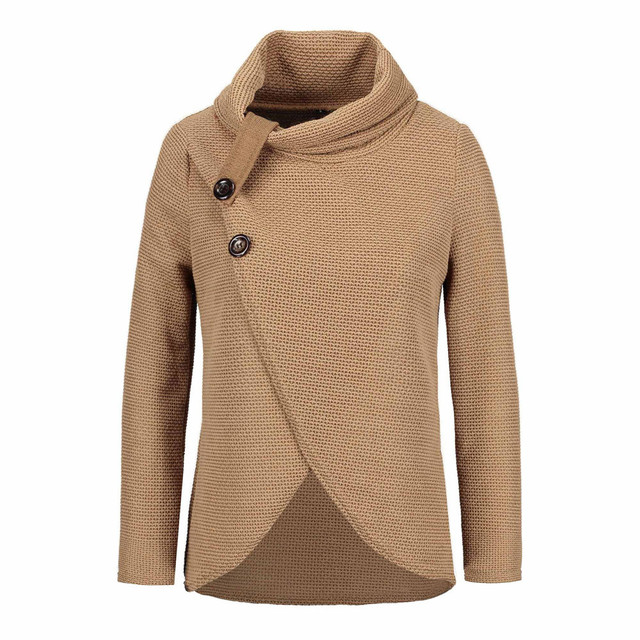 Women knitted pullovers Long Sleeve o neck Solid girl Pullover Tops Blouse Shirt pullovers winter women clothing  1