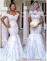 Africano Largo Sirena Vestido de Noche Moldeado atractivo Blanco Off Hombro Vestido de Noche Formal EV468