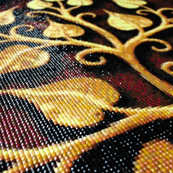 5D diamond embroidery square diamond sets full decor diy diamond painting cross stitch flowers and butterfly 3pcs diamond mosaic in Diamond Painting Cross Stitch from Home Garden