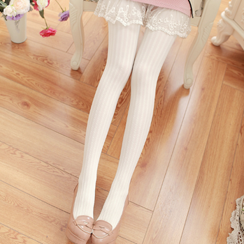 Super Elastic Jacquard Tights Women Autumn Winter Warm Solid Tights Female  Stretchy Pantyhose Hosiery fish net stockings tights
