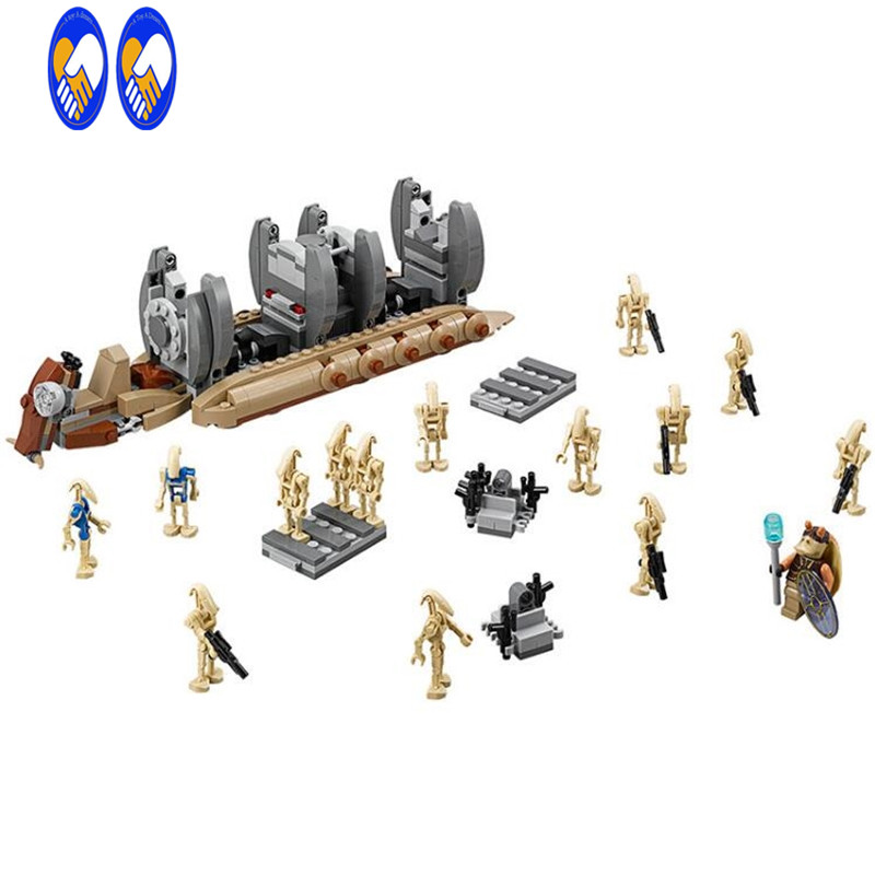 (A Toy A Dream)NEW StarWars series the Battle Droid Troop Carrier model building block figures Classic Toys Compatible with