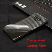 3D Carbon Fiber Wrap Back Film Skin Sticker For Samsung Galaxy S10 Plus S10e S9+ S8 S7 Edge Note 10+ 9 8 5 A750