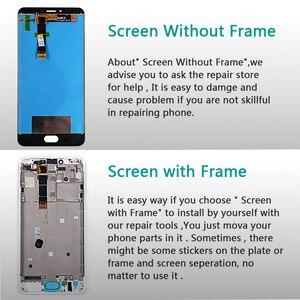 Image 5 - صفقة فريق شاشة الكريستال السائل 5.5 بوصة ل Meizu U20 مجموعة المحولات الرقمية لشاشة تعمل بلمس 1920*1080 إطار مع شحن المقسى زجاج و أدوات