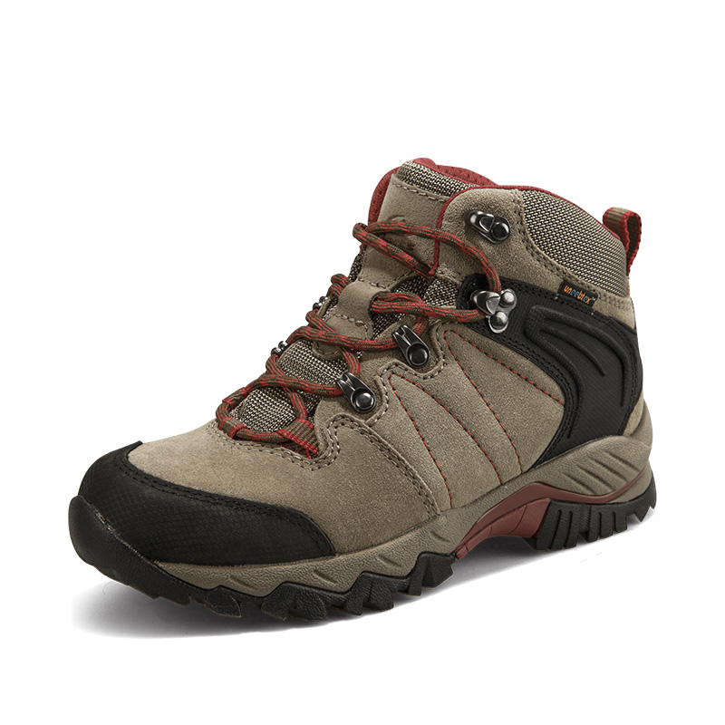2018 Clorts Mens Hiking Shoes Waterproof Mountain Shoes High Cut Outdoor Climbing Sports Shoes For Men Free Shipping HKM-822A