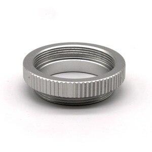 Image 2 - 5 Stuks Macro C Mount Ring Adapter Voor 25Mm 35Mm 50Mm Cctv Movie Lens M4/3 nex Camera Zilver