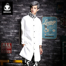 GENANX бренд пары Тренч Весной 2017 Новая одежда мужская Подростковая пыли пальто Хань вариант размер M-XXL(China (Mainland))