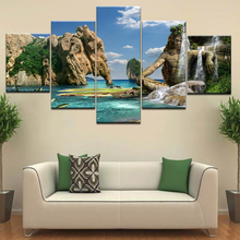 Naturally Beautiful Places In India Landscape 5 Panel HD Print wall posters Canvas Art Painting For home living room decoration naturally beautiful places in india landscape 5 panel hd print wall posters canvas art painting for home living room decoration