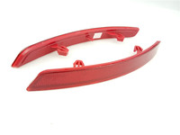 A Pair OEM 9670338080 Rear Bumper Left And Right Side Lamp Reflector For Citroen C5 2010