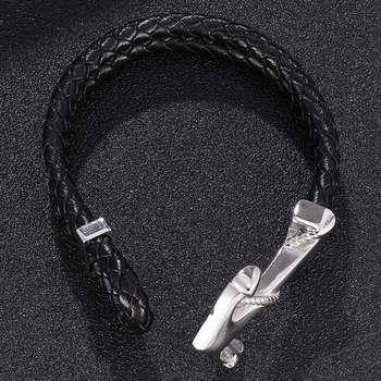 Bracelet Ancre Marine Argent