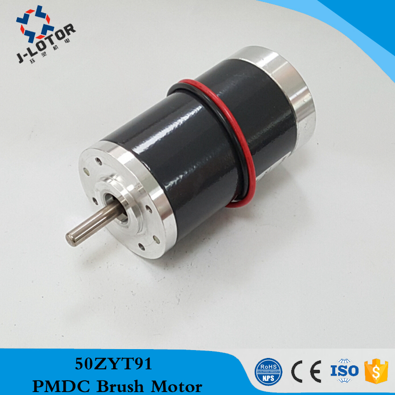 50zyt91 12v 24v 2000rpm 6000rpm 50mm permanent magnet for Electric motor bearings suppliers