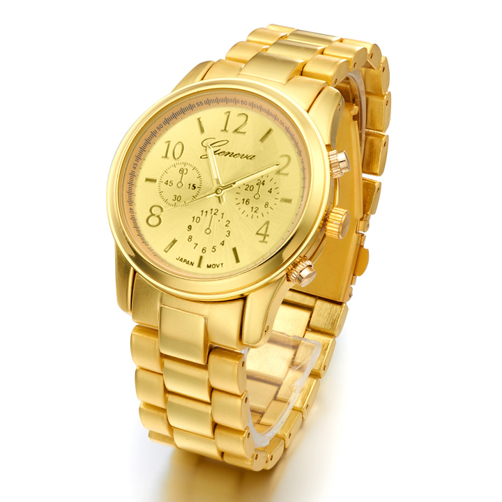 FANALA 2017 Kvinnor Watch Fashion Armbandsur Rose Gold Quartz Watch Klocka Klänning Casual Rhineston Relogio Feminino