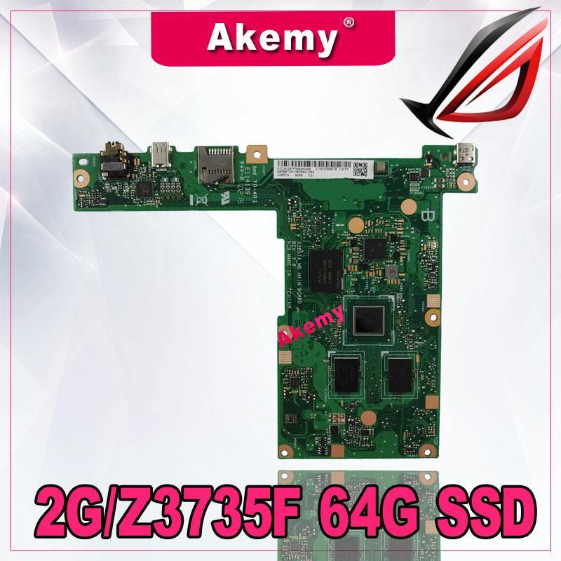 Akemy X205TA  Laptop Motherboard For ASUS X205TA  X205T  Motherboard 2G/Z3735F 64G SSD