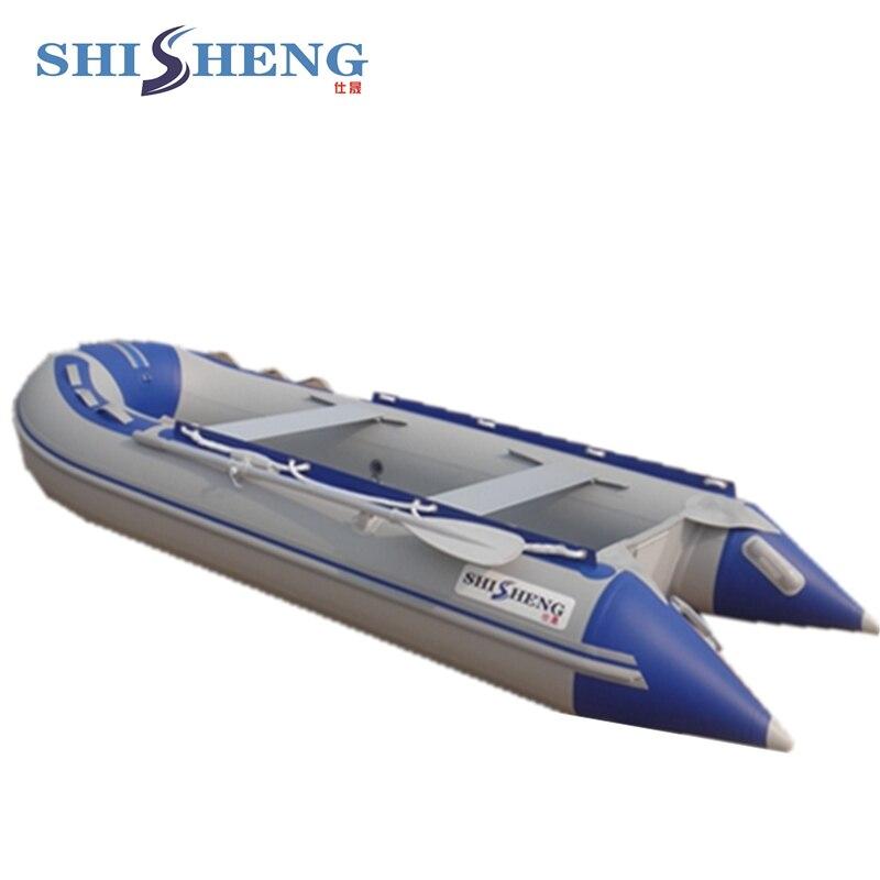 Bote inflable de aluminio plegable de alta - Deportes acuáticos - foto 4