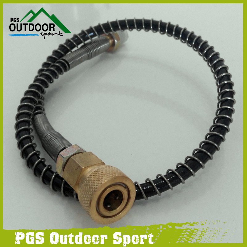 Image 3 - PCP/Auto Hand Pump Hose for Refill 64Mpa/9000PSI with 8mm Quick Connector-in Paintball Accessories from Sports & Entertainment