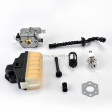 Walbro Карбюратор Carb Прокладка Нефть Топливный Фильтр Линия fit STIHL 021 023 025 MS210 MS230 MS250 Бензопилой Carburador