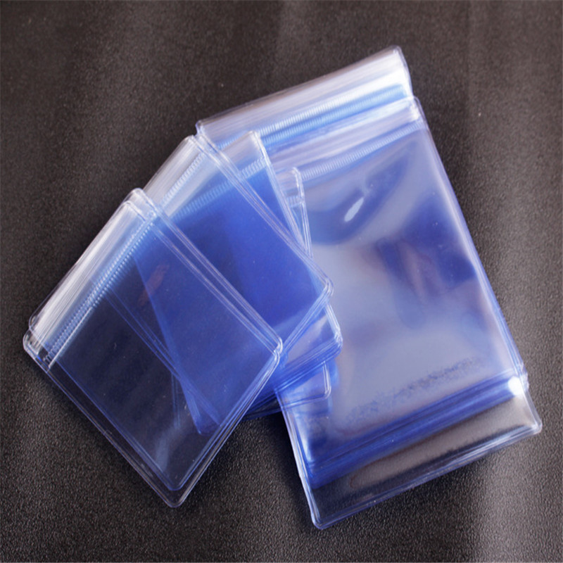 50pcs Thick Opp Bags Sealing Package Protection Jewelry Water-proof Transparent Packaging High-quality Plastic Bags Hot Selling
