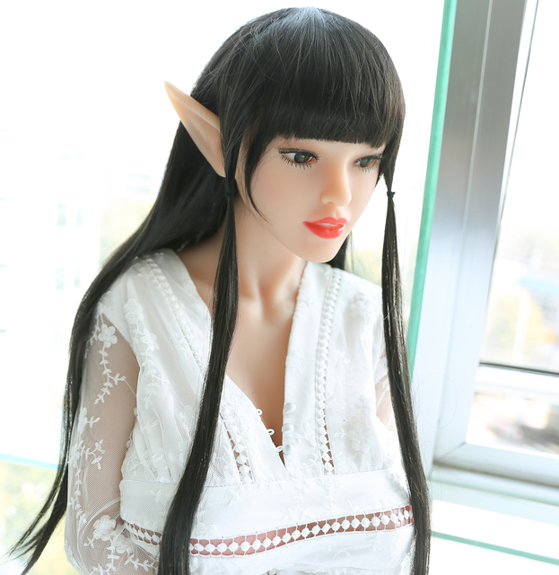 JUSE 165CM Fairy People Cosplay Sex Doll, Oral Vagina Anal Breast Sex Love Doll,Fairy Character Huge Breast Silicone Sex Doll