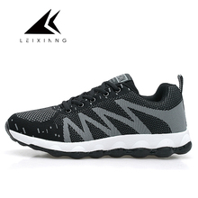 Outdoor Air Mesh Cushioning Lace up Running Shoes breathable Athletic Sneakers Free Shipping