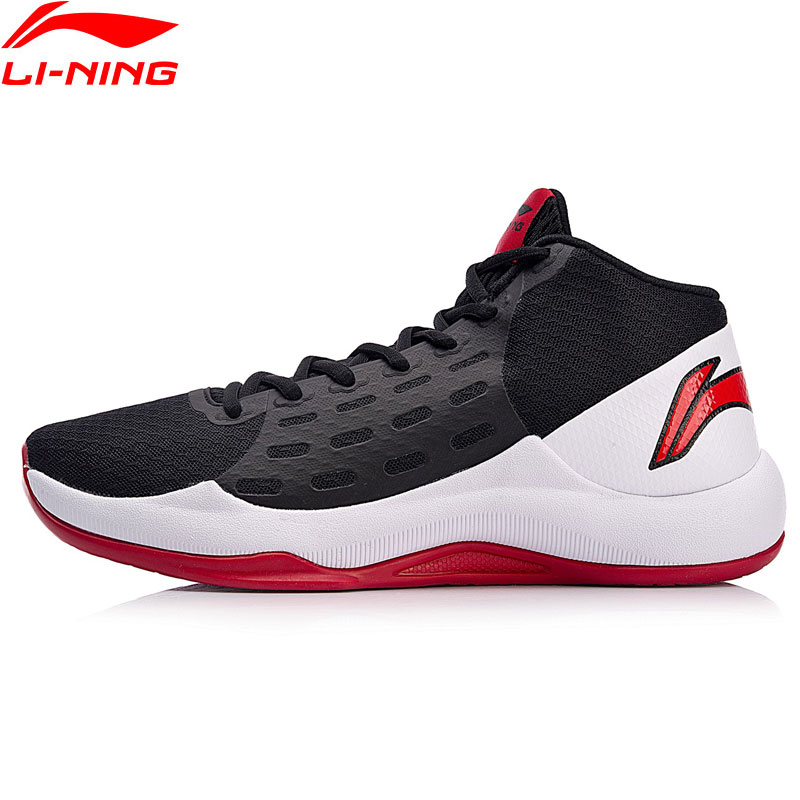 Li Ning Men SONIC TEAM Basketball On Court Shoes Anti Slippery LiNing Breathable Sport Shoes Wearable