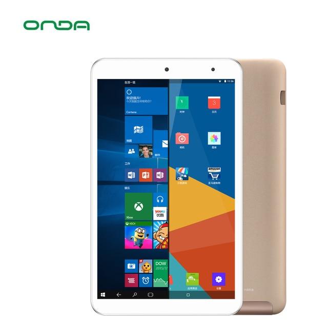Onda V80 Cộng Với 8 inch Tablet PC intel z8350 Quad-core 1920*1200 IPS Màn Hình 2 GB Ram 32 GB Emmc Giành Chiến Thắng 10 + Android 5.1 WiFi Bluetooth